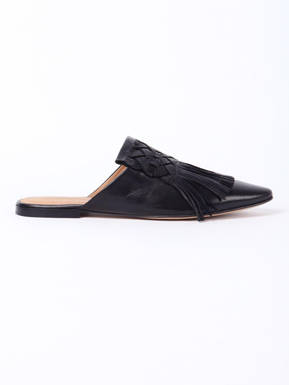 POMME D'OR pantofle s třásněmi