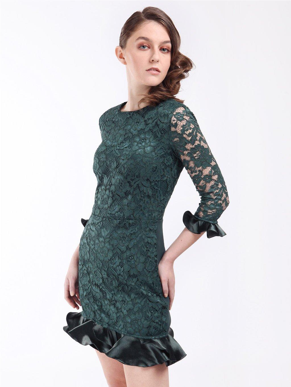 Krajkové šaty s kanýry  ELISABETTA FRANCHI