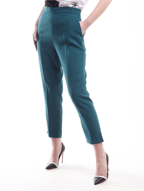 Kalhoty s úzkými nohavicemi s rozparkem  ELISABETTA FRANCHI