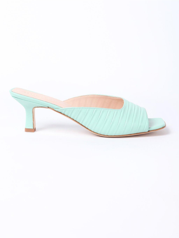 MURIZARI zelené pantofle