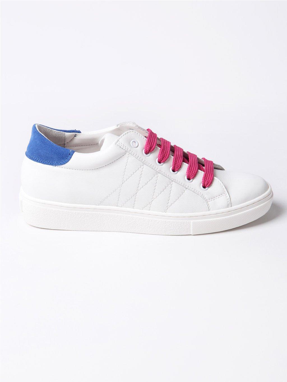 MURIZARI bílé tenisky s barevnými detaily