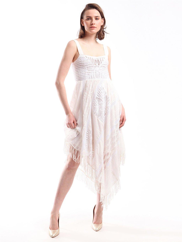 201TT2242 TWINSET bavlněné šaty