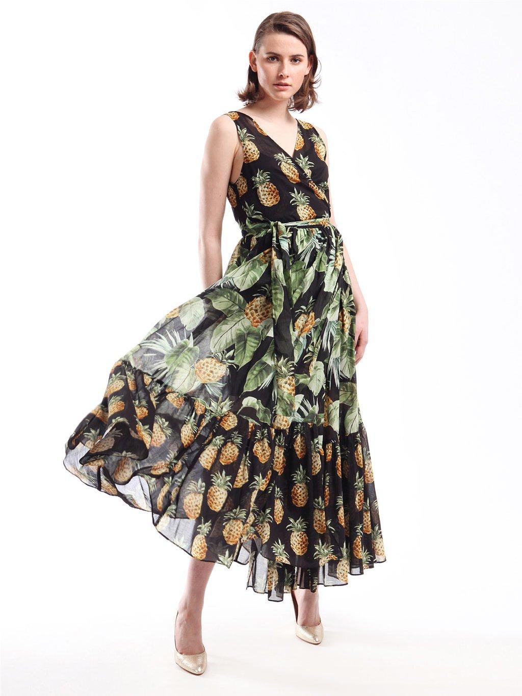 201TT2463 vzorované šaty