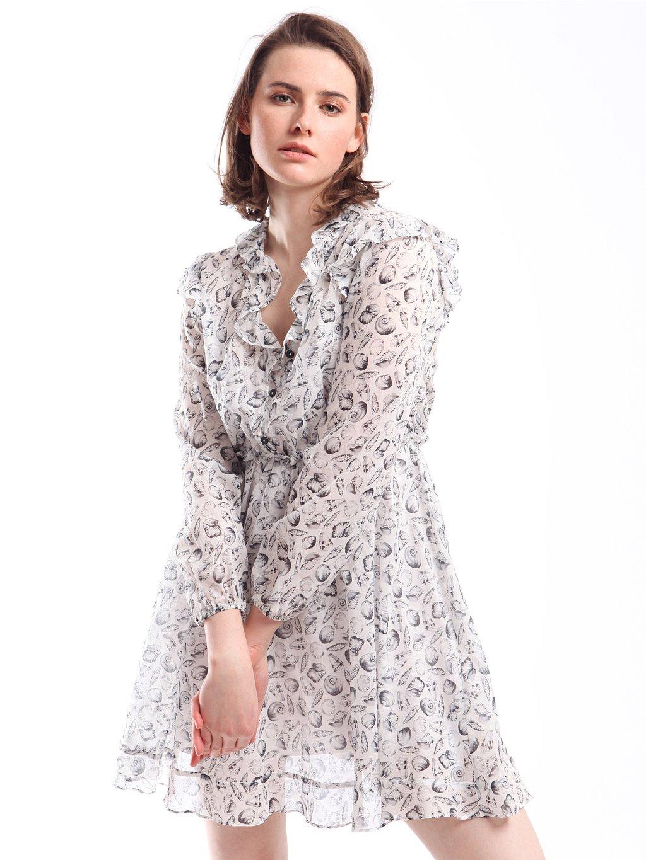 201TT2532 vzorované šaty