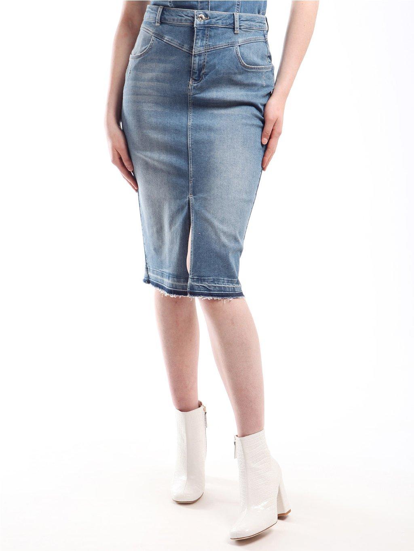 211MT2113 džínová sukně