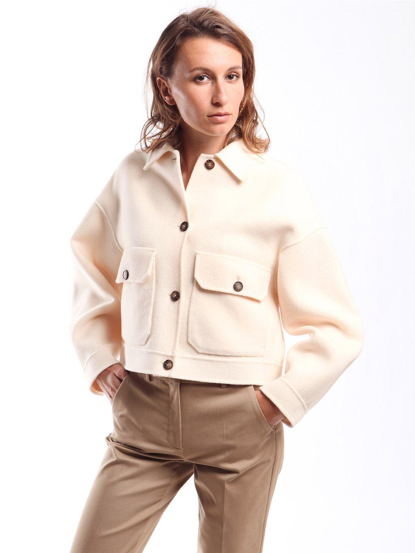 Krátky vlněný kabát  WEEKEND MAX MARA