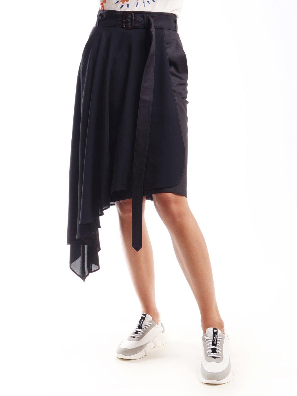 Kombinovaná asymetrická sukně  WEEKEND MAX MARA