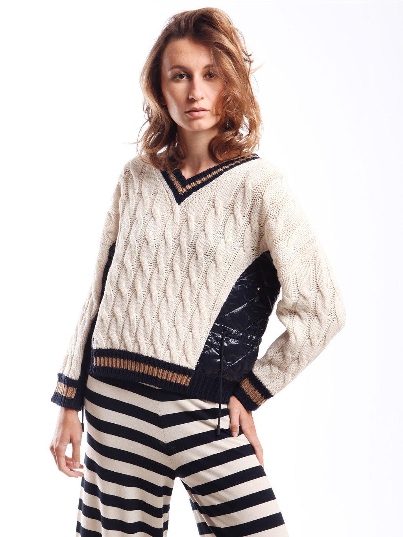 Vzorovaný pletený svetr  WEEKEND MAX MARA