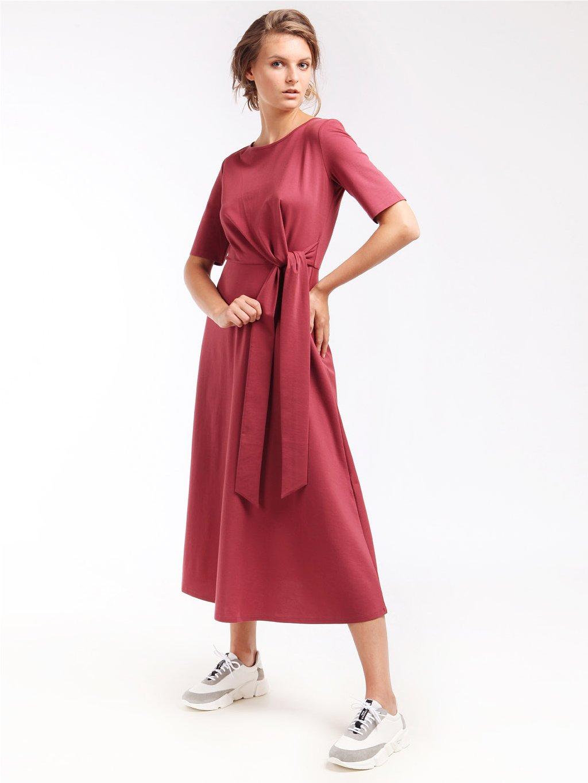Úpletové šaty s vázáním  WEEKEND MAX MARA