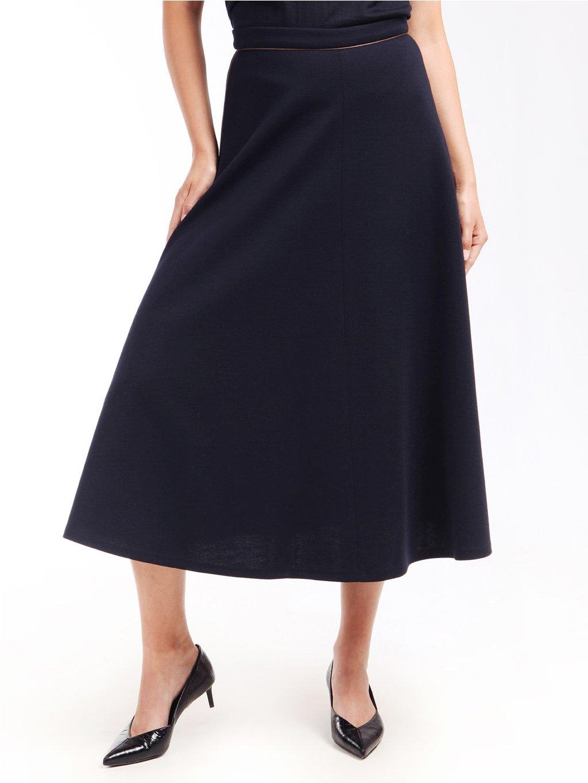 Úpletová midi sukně  MAX MARA