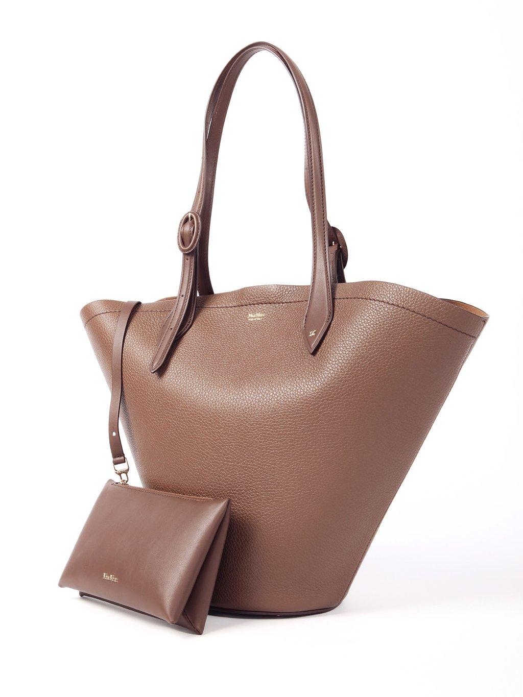 Kožená kabelka na rameno  MAX MARA