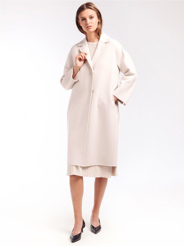 Vlněný ručně šitý kabát  ´S MAX MARA