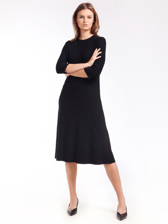 Úpletové šaty s tříčtvrtečním rukávem  ´S MAX MARA