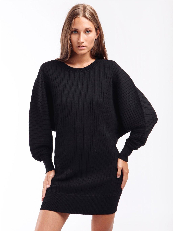 Úpletové šaty s žebrovaným vzorem  TWINSET