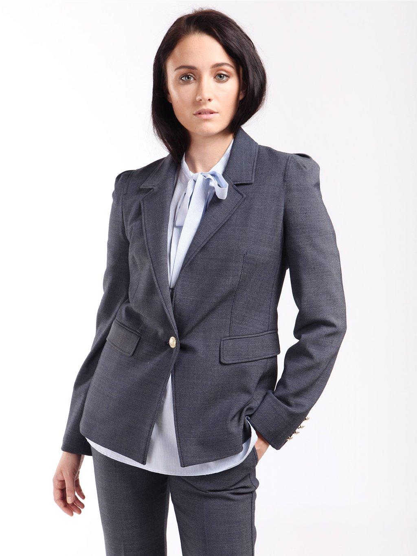 Sako s výraznými knoflíky  MARELLA