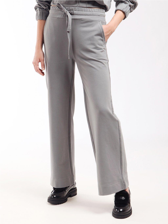 Teplákové kalhoty se širší nohavicí  MARELLA