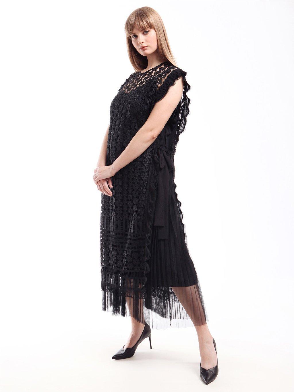 DECISO šaty černé