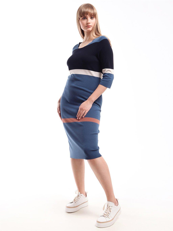 MARINA RINALDI úpletové šaty