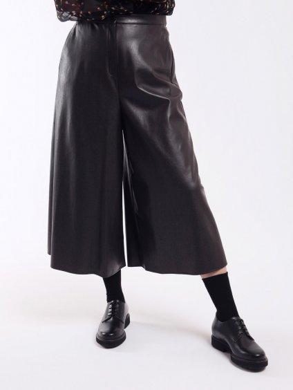 Kalhoty z imitace kůže  MARINA RINALDI
