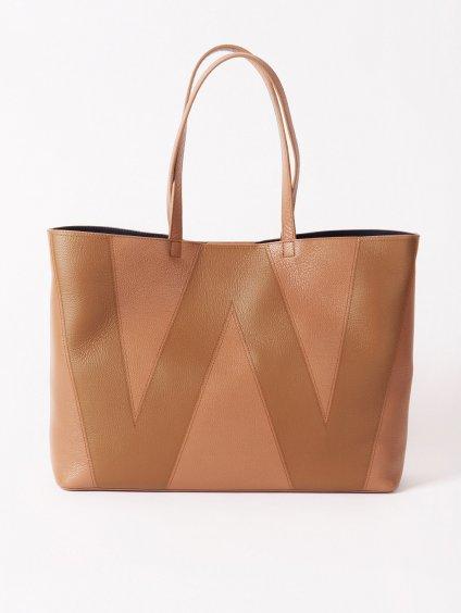 Kožená kabelka Shopper W  WEEKEND MAX MARA