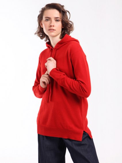 APOGEO červený svetr