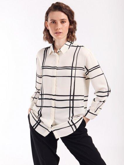 NEO vzorovaná košile