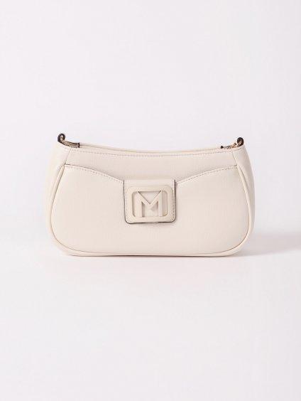 Koženková kabelka s logem  MARELLA