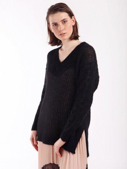 202LI3SBB černý svetr