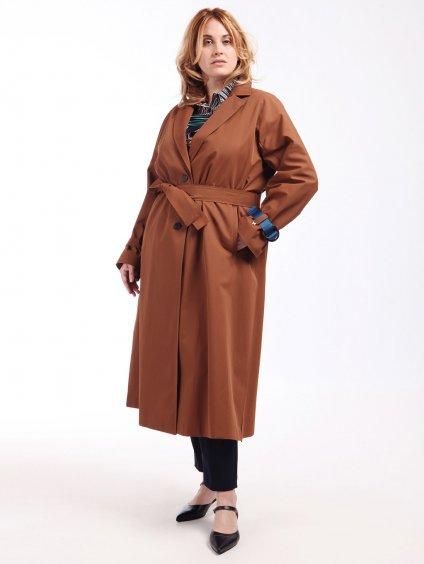 TARANTINO hnědý kabát