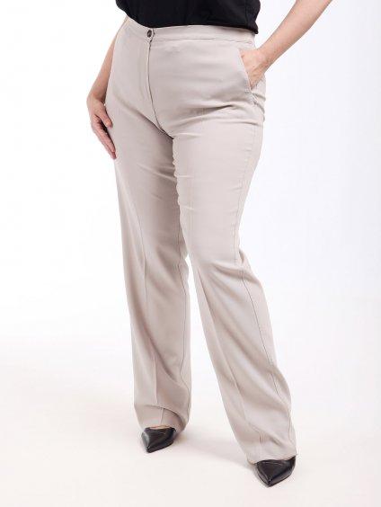 Vlněné rovné kalhoty  MARINA RINALDI