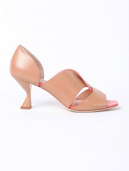 BOTTEGA B288 béžové sandály