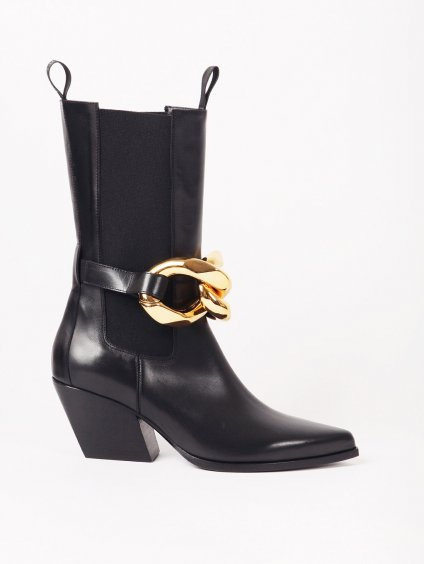 ELENA IACHI kovbojské boty