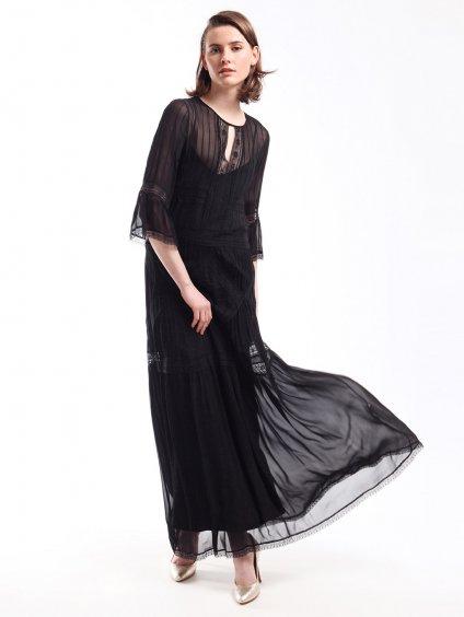 201TP2310 černé šaty