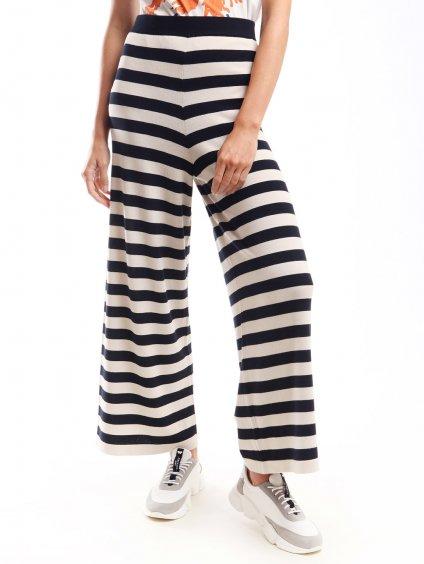 Úpletové pruhované kalhoty  WEEKEND MAX MARA