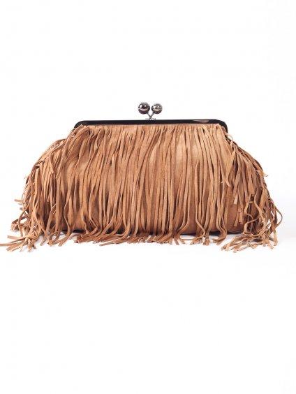 Velká kabelka z broušené kůže  WEEKEND MAX MARA