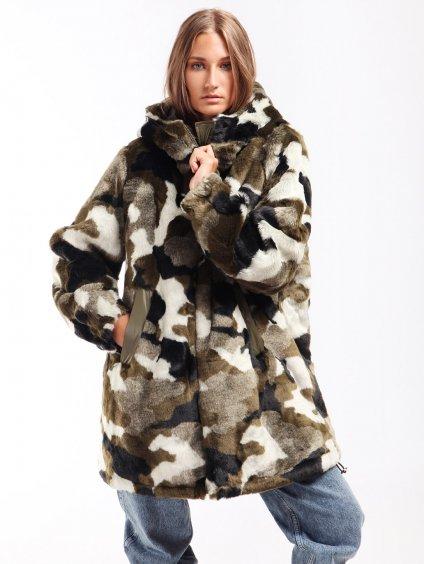 Oboustranný maskáčový kabátek  TWINSET