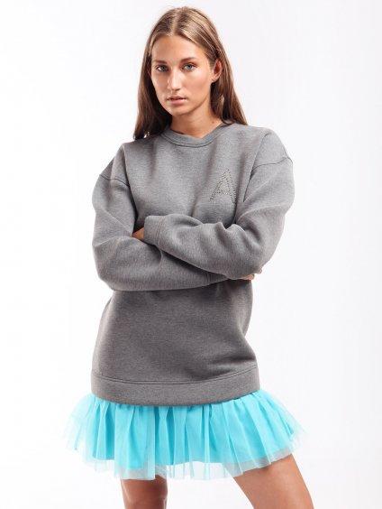 Šaty s tylovým volánem  TWINSET