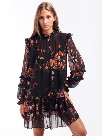 Krátké květinové šaty  TWINSET