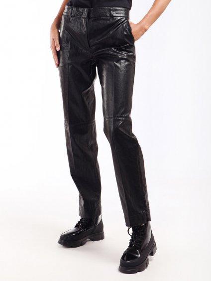 Koženkové kalhoty rovného střihu  TWINSET