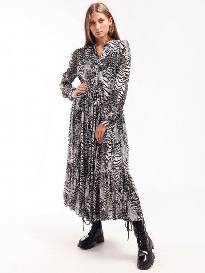 Dlouhé vzorované šaty  TWINSET
