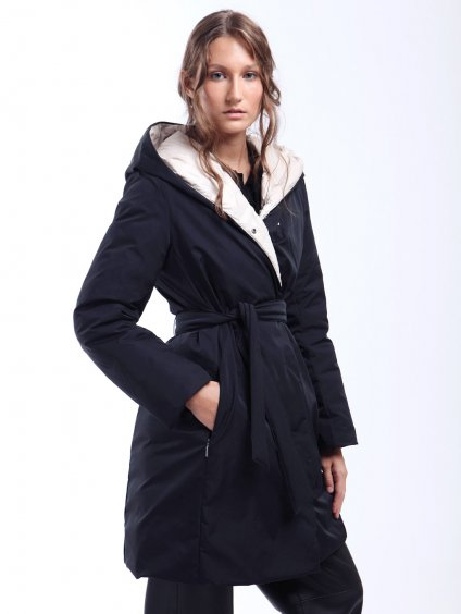 EGUALE oboustranný kabát