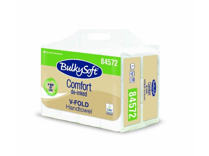Papírové ručníky skládáné V, 1 vrstvé, 3600ks