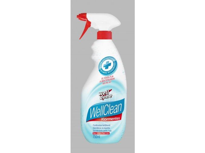 Well Clean dezinfekce na koupelny 750ml