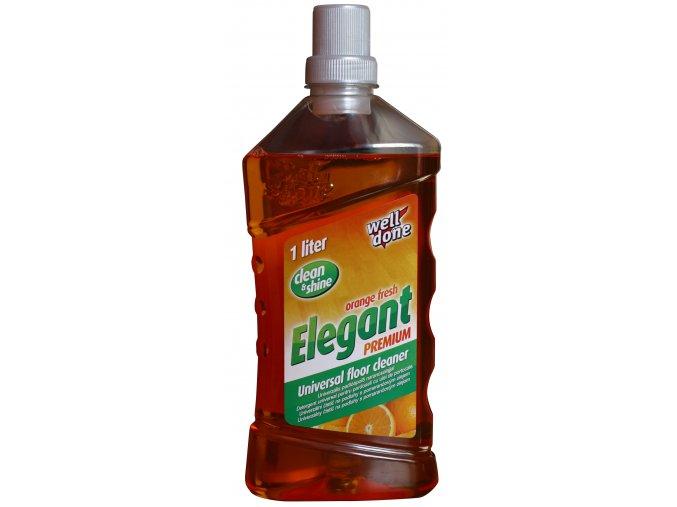 Elegant čistič na podlahy s pomerančovým olejem