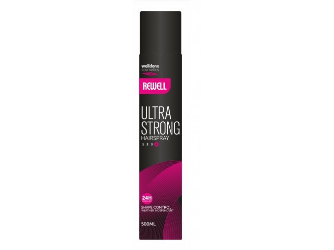 Rewell lak na vlasy ultra strong 500ml