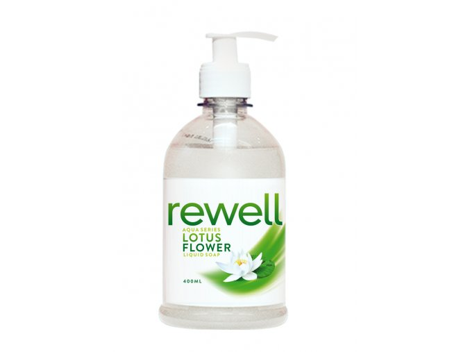 Rewell liquid soap lotus