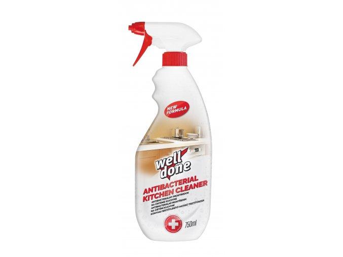 Univerzální antibakteriální čistící prostředek do kuchyně s rozprašovačem 750ml