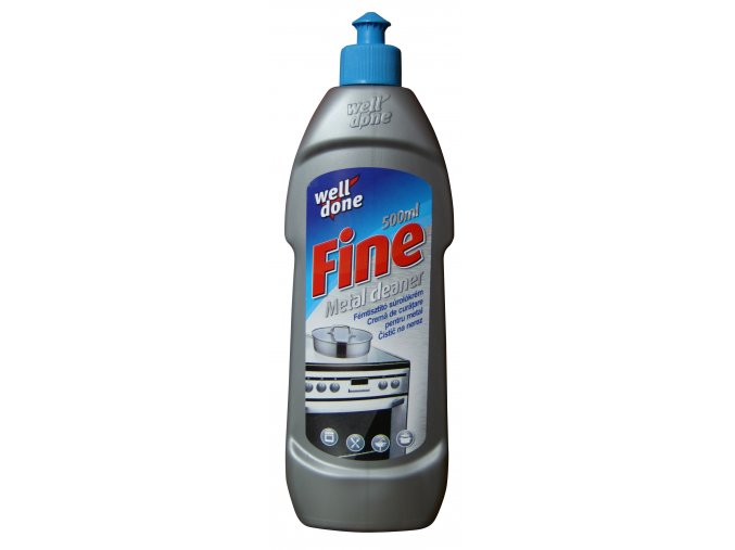 Fine tekutý čistič na nerez 500ml