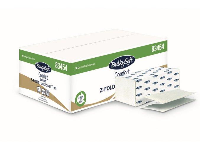 Papírové ručníky skládané Z-FOLD Ultra, 2vr., 3750ks, celluloza