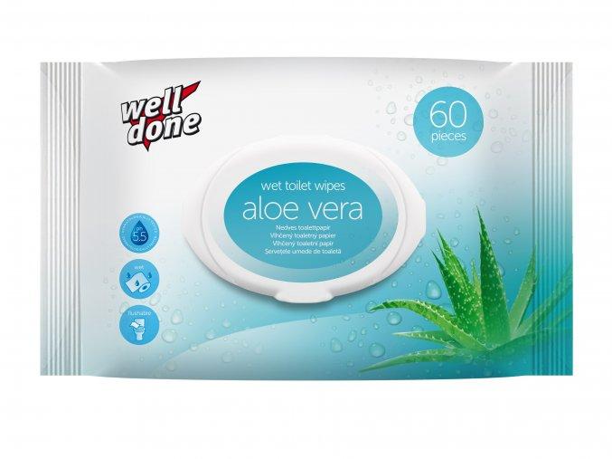 Vlhčený TP Aloe vera